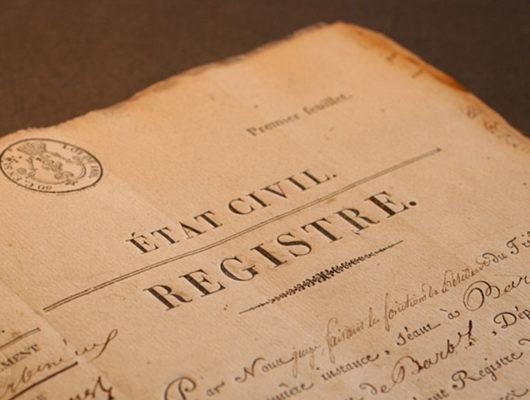 Miniature de l'article intitulé : Demande d'acte d'état civil